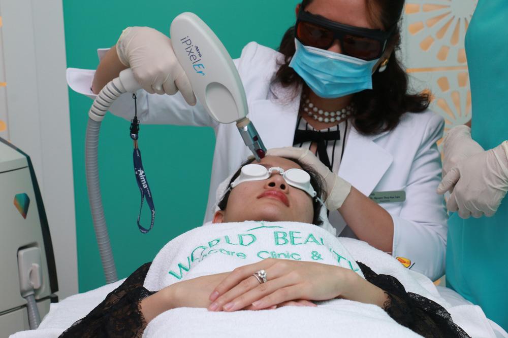 Điều trị bằng laser CO2
