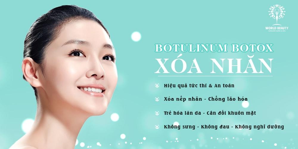 Trẻ hóa với botox - World beauty clinic
